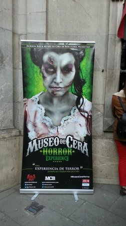 Museu de Cera: Cartel promocional