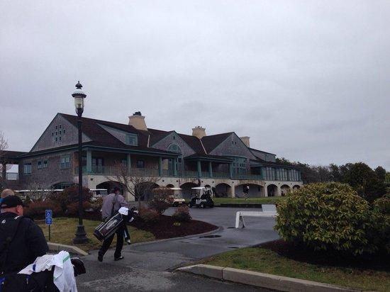 Waverly Oaks Golf Club : Waverly clubhouse