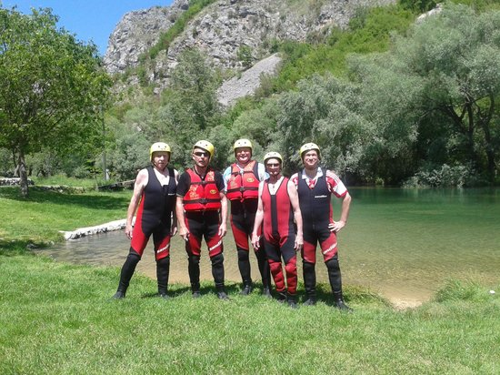 Hotel Globo: white water rafting with a 79 year old