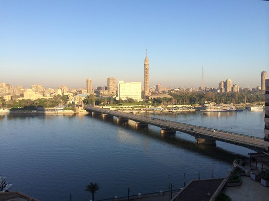 InterContinental Cairo Semiramis : View from room 1012