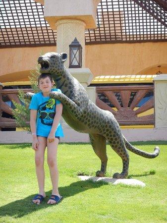 Jungle Aqua Park : de ingang van het hotel