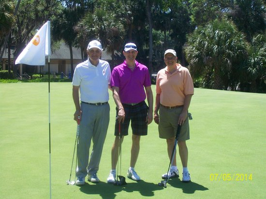 George Fazio Golf Course: Mike Tony and Johnnie from NY