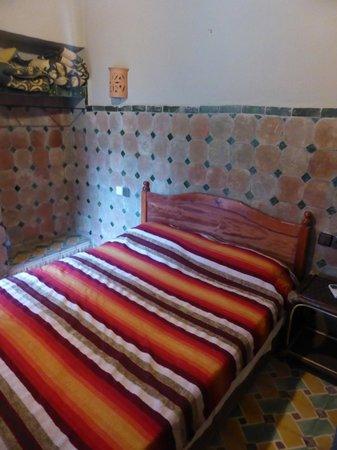 Auberge La Terrasse des Delices : Our little room