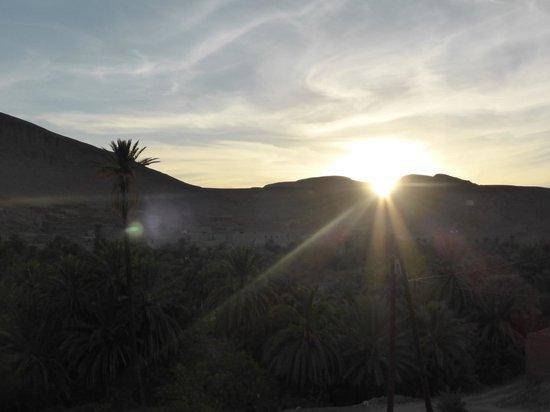 Auberge La Terrasse des Delices : Sunset 1