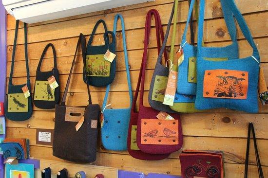 Charlotte Lane Cafe & Crafts: Handmade shoulder bags