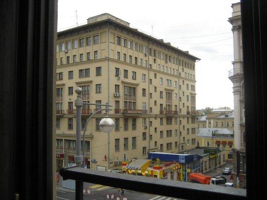 Moscow Marriott Grand Hotel: la rue tverskaya