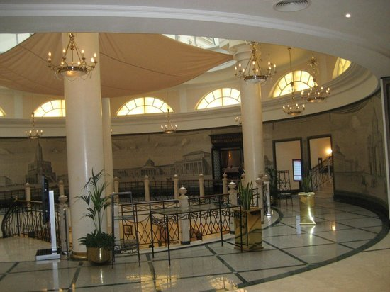Moscow Marriott Grand Hotel: réception