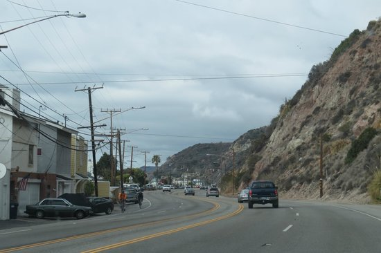 Malibu Colony: PCH thru Malibu