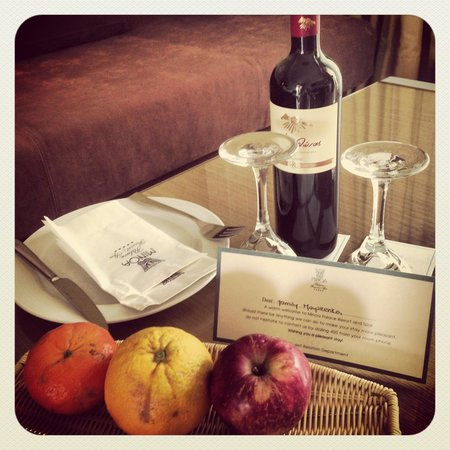 Minoa Palace Resort & Spa : Комплимент от отеля!
