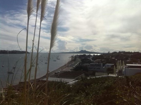 St. Helier's Bay: Rangitoto View from Bucklands Beach Dr, East AKL