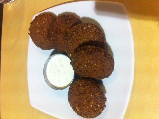 Kebaguette: Falafel