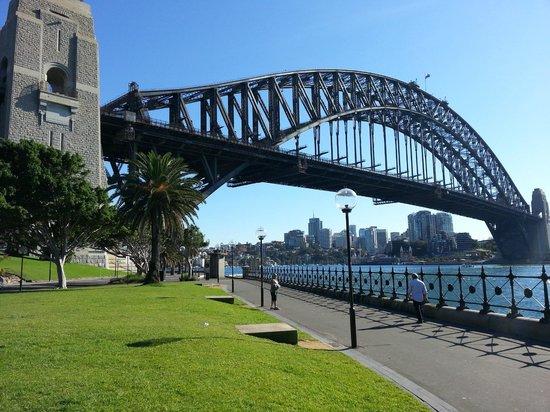 BridgeClimb: A beautiful clear day