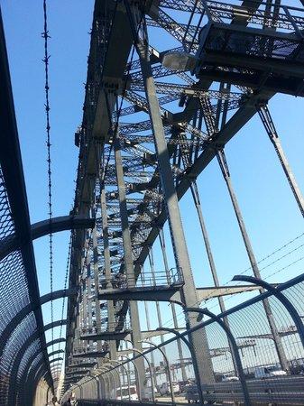 BridgeClimb: The regular bridge walkway