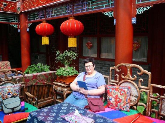 Imperial Courtyard Hotel: Breakfast area