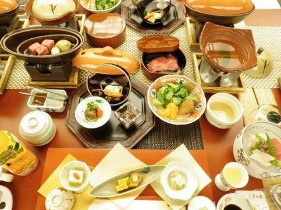 Yumotokan: dinner