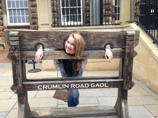 crumlin road gaol in the stocks