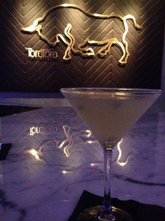 InterContinental Miami: Carambola martini at Toro Toro