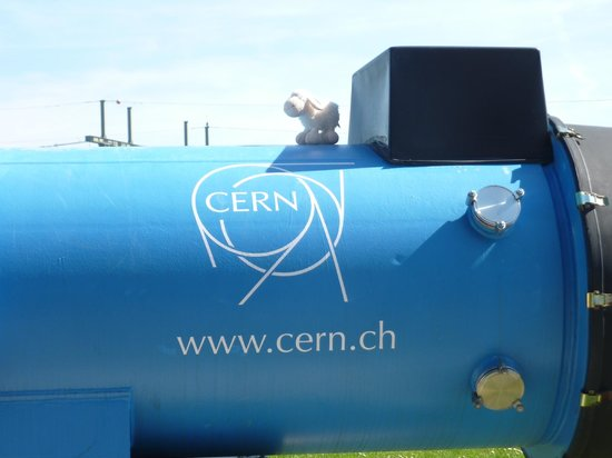 CERN Univers de particules: Shaun at CERN