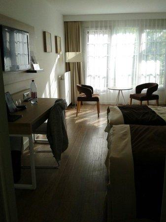 Hôtel du Parc : La chambre