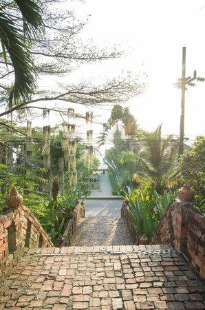 SriLanta Resort: Weg zum Strand