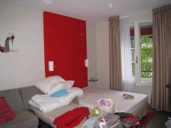 Ibis Styles Rouen Centre Cathedrale : chambre