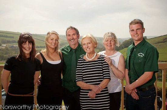 Valley View Cafe: with Mary Berry at our grand opening!
