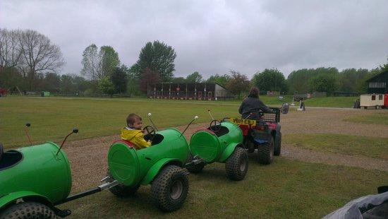 Easton Farm Park: Bug Ride