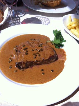 Ristorante Unione : Beef with pepper sauce