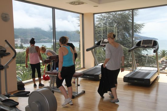 Iberostar Bellevue: salle fitness