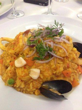Pesquera Jaramillo: Delicioso arroz peruano