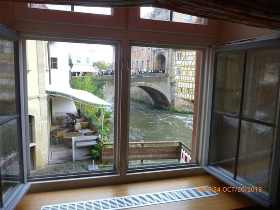 Hotel Brudermühle: Room with a view