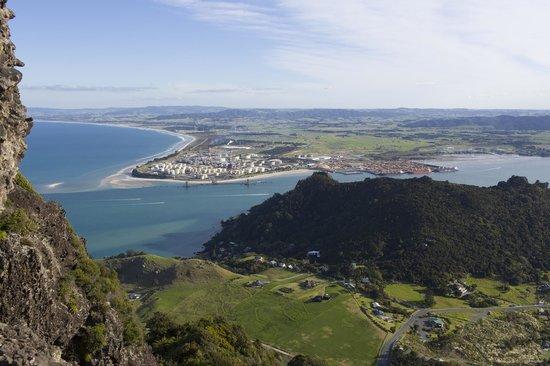 Whangarei, Nueva Zelanda: View from the peak
