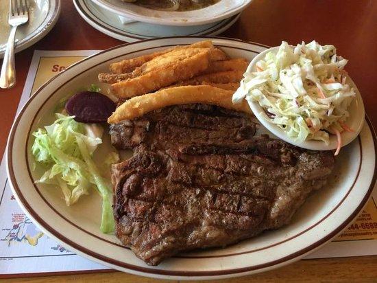 Bryce Canyon Pines: Gute Steak