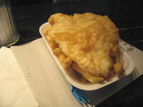 Parkgate Fish and Chips: Delicious