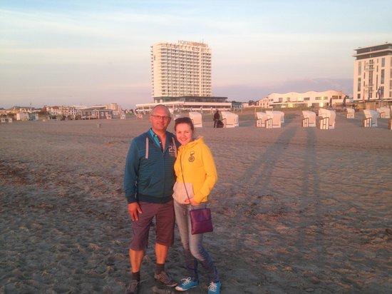 Hotel NEPTUN: пляж