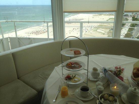 Hotel NEPTUN: завтрак