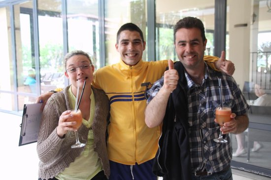 Iberostar Bellevue: les gagnants du jeu reflex