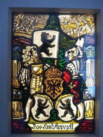 Museum Appenzell : ภาพวาดการะจก