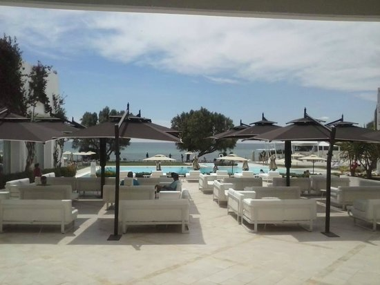 SENTIDO Le Sultan : View from the lobby