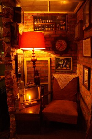 Bar TCRC : one little corner of the bar