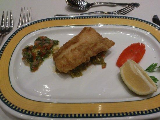 Medina Belisaire & Thalasso: fish course