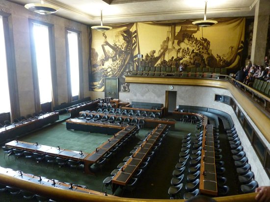 UNOG - Palais des Nations: The Spanish Room