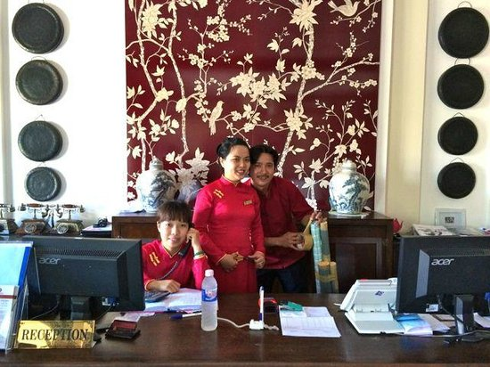 Little Hoian Boutique Hotel & Spa: happy & kind staff