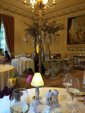 Chateau de Rochecotte: Dining room