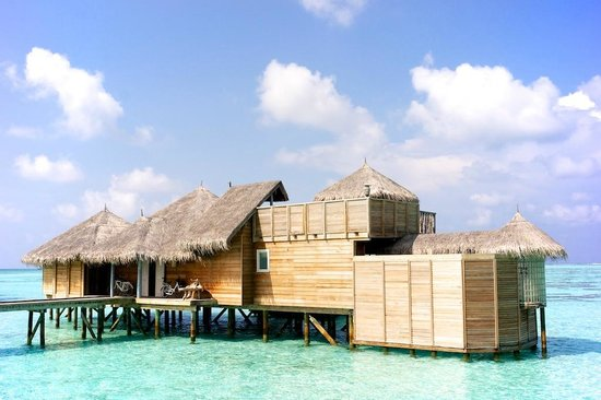 Gili Lankanfushi: our villa