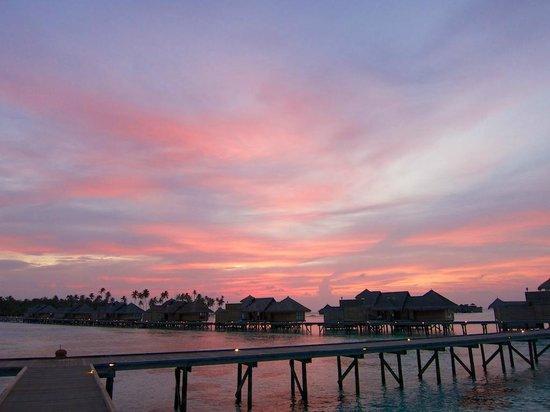 Gili Lankanfushi: sunset