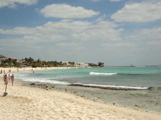 Grand Bahia Principe Coba: Beach walk