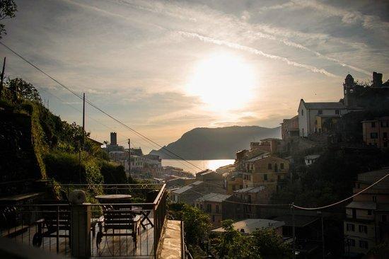 Camere Giuliano: Vernazza, Sunset