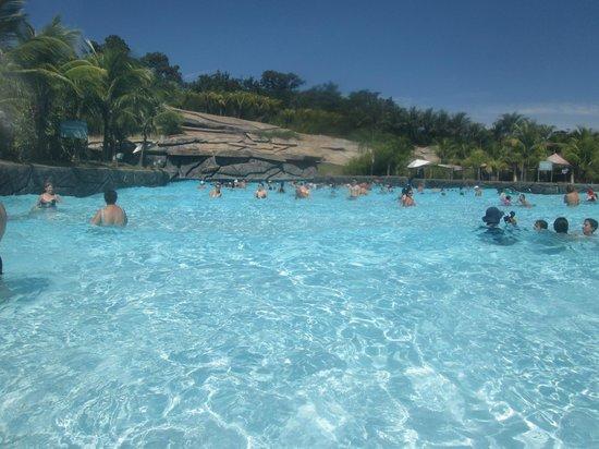 Hot Park: praia