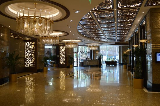 Central Hotel Shanghai: Reception area